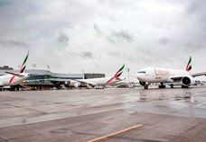 Emirates receives company record delivery of four new aircraft in one day