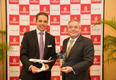 Emirates signs deal with Thales to provide IFEC solutions for new Boeing 777X fleet