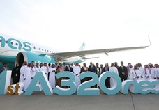 flynas takes delivery of its first Airbus A320neo aircraft