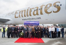 Emirates takes delivery of its 190th  and last Boeing 777-300ER aircraft