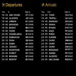 Flight Schedules