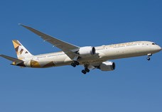 Etihad Airways takes delivery of B787-10 aircraft