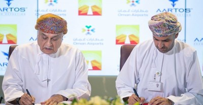 "AACO | Oman Airports sign agreement to install ""Drone Detection System"""