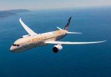 Etihad Airways receives new Boeing 787 Dreamliner