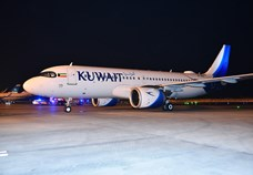 Kuwait Airways takes delivery of third Airbus A320neo