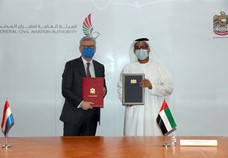 UAE GCAA signs air transport services agreement with Curacao