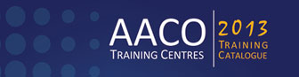AACO Training Center - 2013 Training Catalog